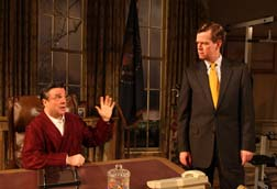 Nathan Lane and Dylan Baker in 'November'