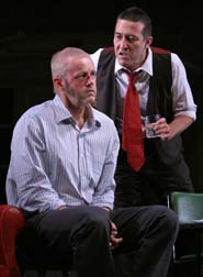 David Morse and Ciaran Hinds in 'The Seafarer'