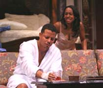 'Cat on a Hot Tin Roof,' Terrence Howard, Anika Noni Rose, photo Joan Marcus