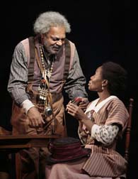 Roger Robinson, Marsha Stephanie Blake. Photo by T. Charles Erickson.