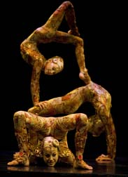 Contortionists.