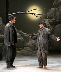 Bill Irwin and Nathan Lane, photo by Joan Marcus.